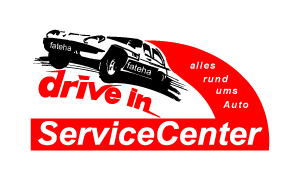 Logo drive in Service Center am Sachsenring